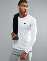 Le Coq Sportif Logo Long Sleeve Top - White