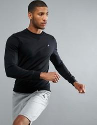 Le Coq Sportif Logo Sweatshirt - Black