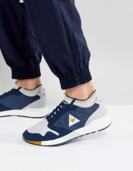 Le Coq Sportif Omicron Techlite Trainers In Blue 1720061 - Blue