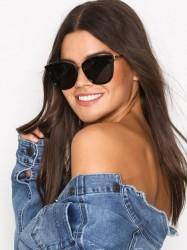 Le Specs Caliente Solbriller Sort/Guld