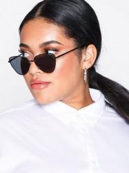 Le Specs Echo Solbriller Sort