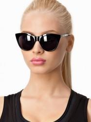 Le Specs Halfmoon Magic Solbriller Sort