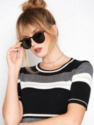 Le Specs No Smirking Solbriller Sort