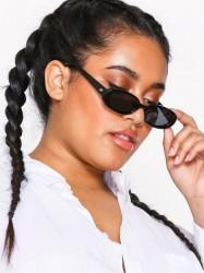 Le Specs Outta Love Solbriller Sort