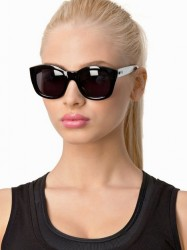 Le Specs Runaways Solbriller Sort