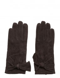 Leathe Glove W Bow