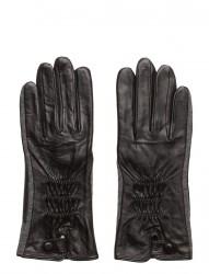 Leather And Felt Glove