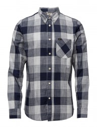 Lee Button Down State Blue