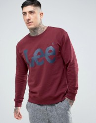 Lee Logo Sweater - Red