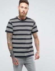 Lee Multi Stripe T-Shirt - Black