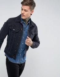 Lee Rider Jacket Slim Vintage Fit Blue Black - Navy