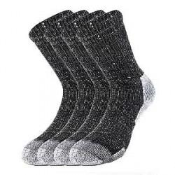 Lenz, Egtved Sokker 2 Par Lenz Staff Worker Thermo Pro Arbejds-sokker i Sort 482 10