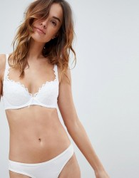 Lepel Fiore Padded Plunge Bra A- E Cup - White