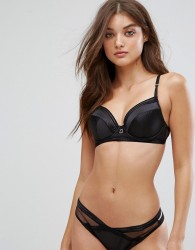 Lepel London Ade Plunge Bra A-D Cup - Black