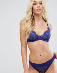 Lepel London Charlie Underwired Bra A-D Cup - Blue