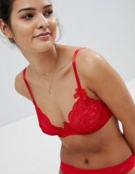 Lepel London Charlie Underwired Bra - Red