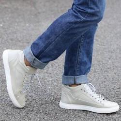 Lesara Højskaftede sneakers med syninger