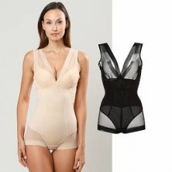 Lesara Shapewear-bodystocking med trussepanel