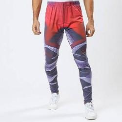 Lesara Sports-tights med abstrakt mønster