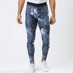 Lesara Sports-tights med lyn