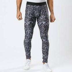 Lesara Sports-tights med stenprint