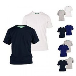 Lesara T-shirts i bomuld (2 stk.)