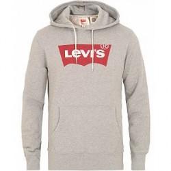 Levi's Graphic Hoodie Midtone Heather Grey