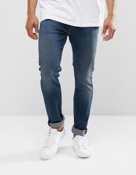 Levis 512 Slim Taper Fit Jeans Roth Dark Wash - Navy