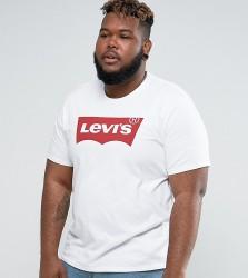 Levi's Big & Tall Batwing T-Shirt White - White