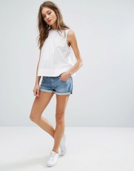 Levi's Shorts with Roll Hem - Blue