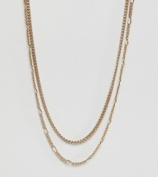 Liars & Lovers gold multi chain necklace - Gold