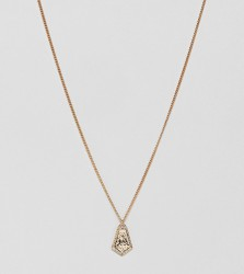 Liars & Lovers gold ornate pendant necklace - Gold