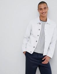 Lindbergh Denim Jacket In White - White