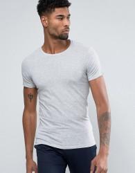 Lindbergh T-Shirt In Grey - White