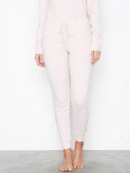Lindex Stripe Night Trousers Pyjamas & Hyggetøj Light Pink
