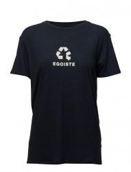 Linen-Blend Boyfriend T-Shirt Egoiste