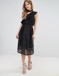 Liquorish Prom Skirt - Black