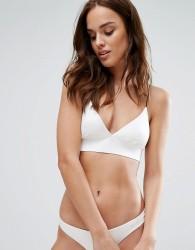 Lira Bralette Bikini Top - White
