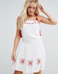 Little White Lies Carys Skater Dress - White