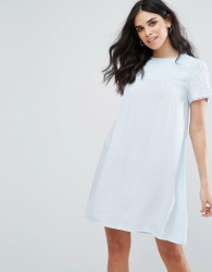Little White Lies Fleur Smock Dress - Blue