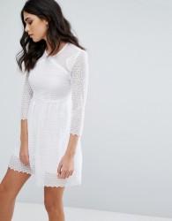 Little White Lies Maryse Skater Dress - White