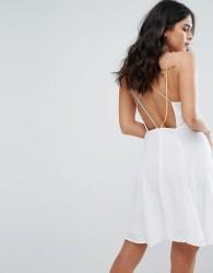 Little White Lies Odette Cross Back Dress - White