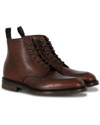 Loake 1880 Anglesey Derby Boot Oxblood Grain Calf men UK9 - EU43 Brun