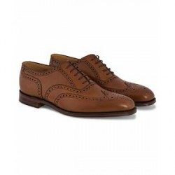 Loake 1880 Buckingham Brogue Brown Burnished Calf
