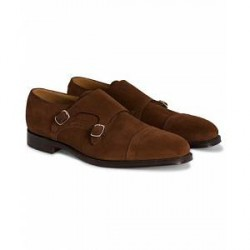 Loake 1880 Cannon Monkstrap Polo Suede