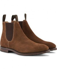 Loake 1880 Chatsworth Chelsea Boot Brown Suede men UK7,5 - EU41,5 Brun