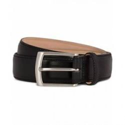 Loake 1880 Henry Leather Belt 3,3 cm Black