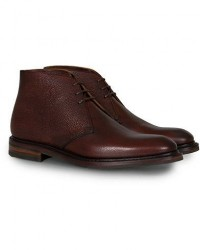 Loake 1880 Legacy Lytham Chukka Boot Oxblood Grain Calf men UK9 - EU43 Brun