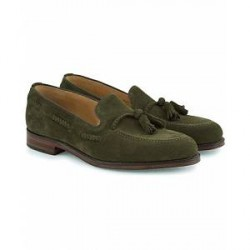 Loake 1880 MTO Temple Loafer Hunting Green Suede