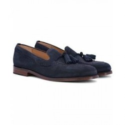 Loake 1880 MTO Temple Loafer Navy Suede